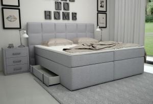 Boxspringbett - Bett mit Bettkasten