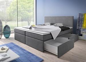boxspringbett mit bettkasten test vergleich und ratgeber. Black Bedroom Furniture Sets. Home Design Ideas