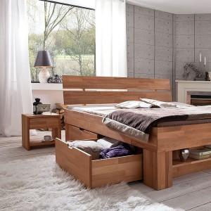 Futonbett - Bett mit Bettkasten