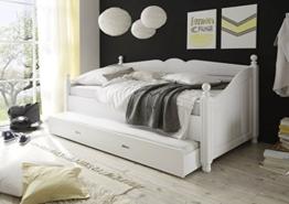 Bett mit bettkasten 90x200  Einzelbett mit Bettkasten ✓ Los geht's! (Einzelbetten)