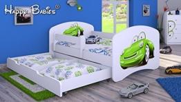 Kinderbett auto grün  Kinderbett mit Bettkasten ✓ Los geht's! Dein Kinderbett
