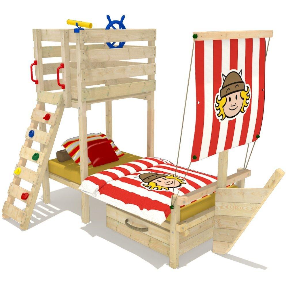 Abenteuerbett Piratenbett Piratenschiff Bett