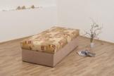 Dreams4Home, Polsterbett, 'Kampen-54', 80, 90, 100, 120, 140×200 cm, beige, Liegefläche:90×200;Komfortvariante:Typ A (bis 140×200) - 1