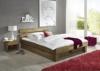 "Futonbett Bett ""Jenny"" Eiche-Massiv Natur geölt, 140 x 200 cm inkl. 2 x Bettkasten und 2 x Nachtkonsole - 1"
