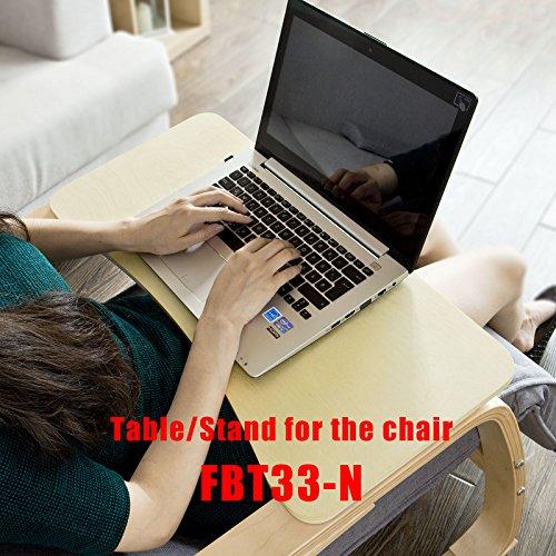 SoBuy® Neu-Schaukelstuhl (verstellbares Fussteil),Relaxstuhl,Relaxsessel mit Tasche, FST16-W -